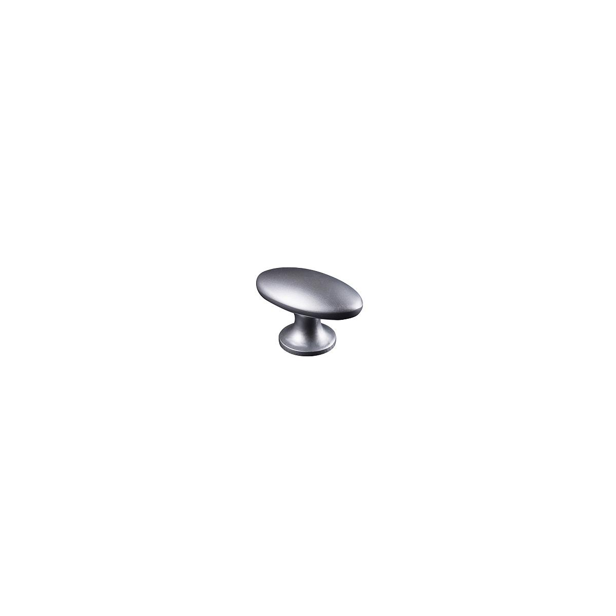1 poignée armoire-commode-tiroir Lifetime ovale zinc