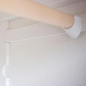 Armoire 1 porte Sebra classic white