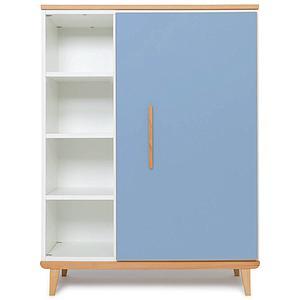 Armoire 120cm 1 porte NADO capri blue