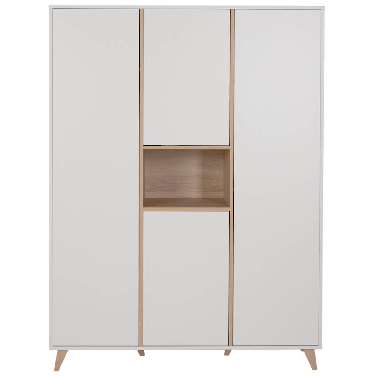 Armoire 143x190cm LOFT Quax blanc