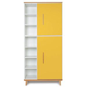 Armoire 198cm 2 portes NADO sunshine yellow
