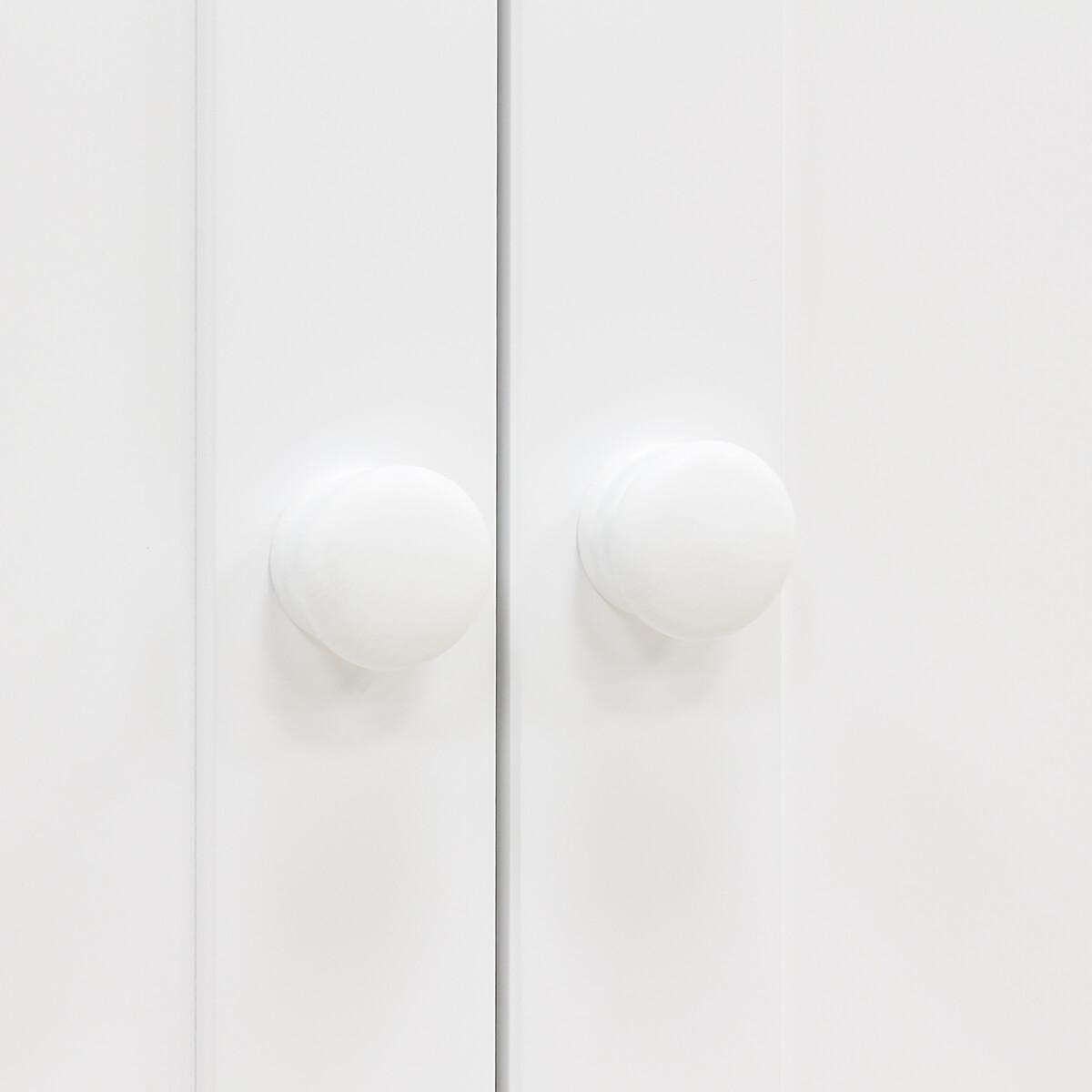 Armoire 2 portes BELLE Bopita Blanc