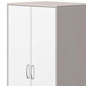 Armoire 2 portes CLASSIC Flexa blanc-grey washed