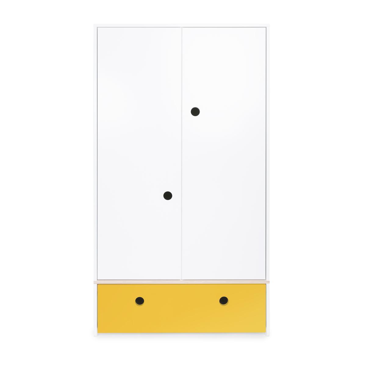 Armoire 2 portes COLORFLEX façade tiroir nectar yellow