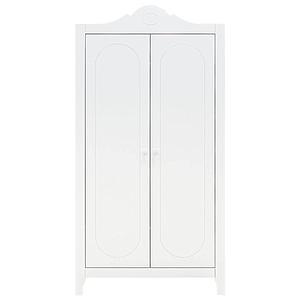 Armoire 2 portes EVI Bopita blanc
