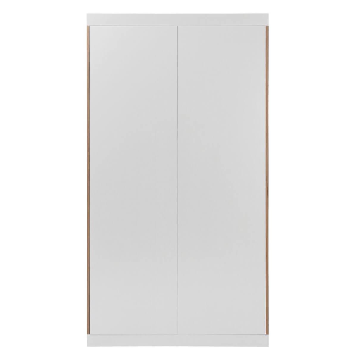 Armoire 2 portes FLAI Mueller blanc-bouleau