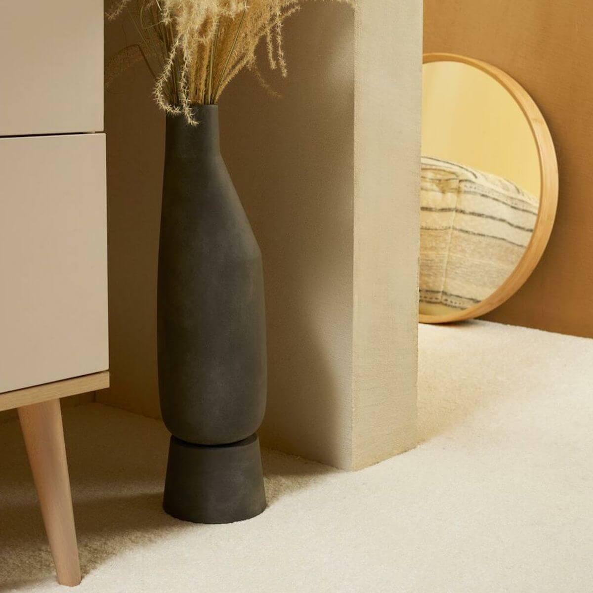Armoire 2 portes FLOW Quax Chêne naturel-Clay