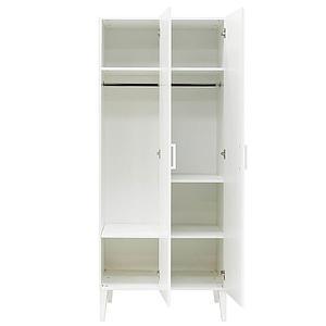 Armoire 2 portes LOCKER Bopita blanc