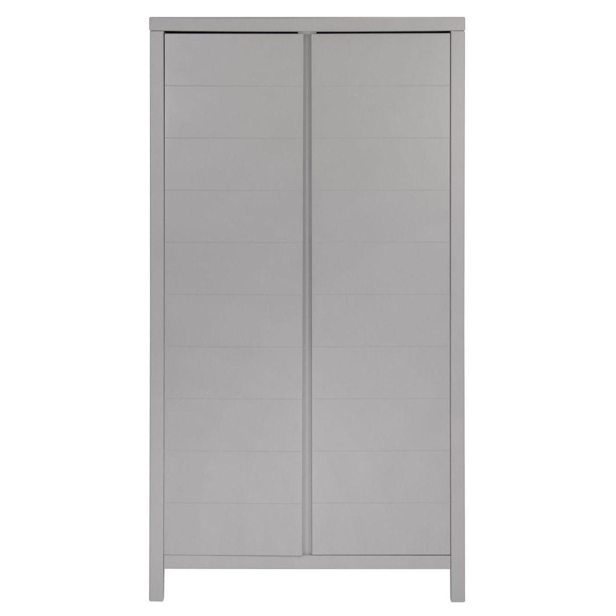 Armoire 2 portes STRIPES Quax Griffin grey