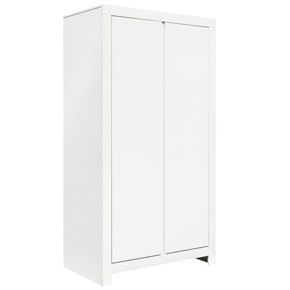 Armoire 2 portes THIJN Bopita blanc