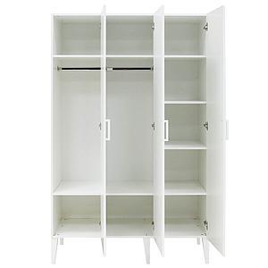 Armoire 3 portes LOCKER Bopita blanc