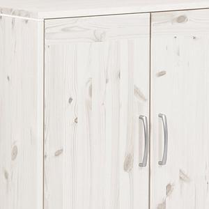 Armoire basse by Flexa deux portes avec une etagère