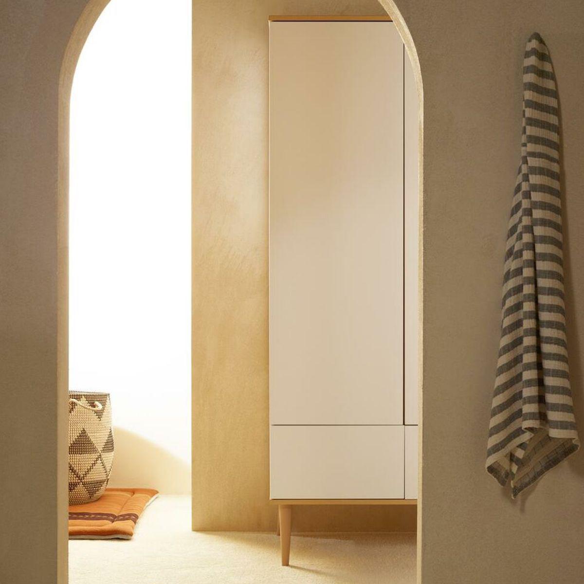 Armoire XL FLOW Quax Chêne naturel-blanc