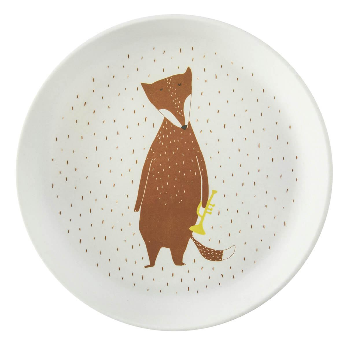 Assiette MR FOX Trixie