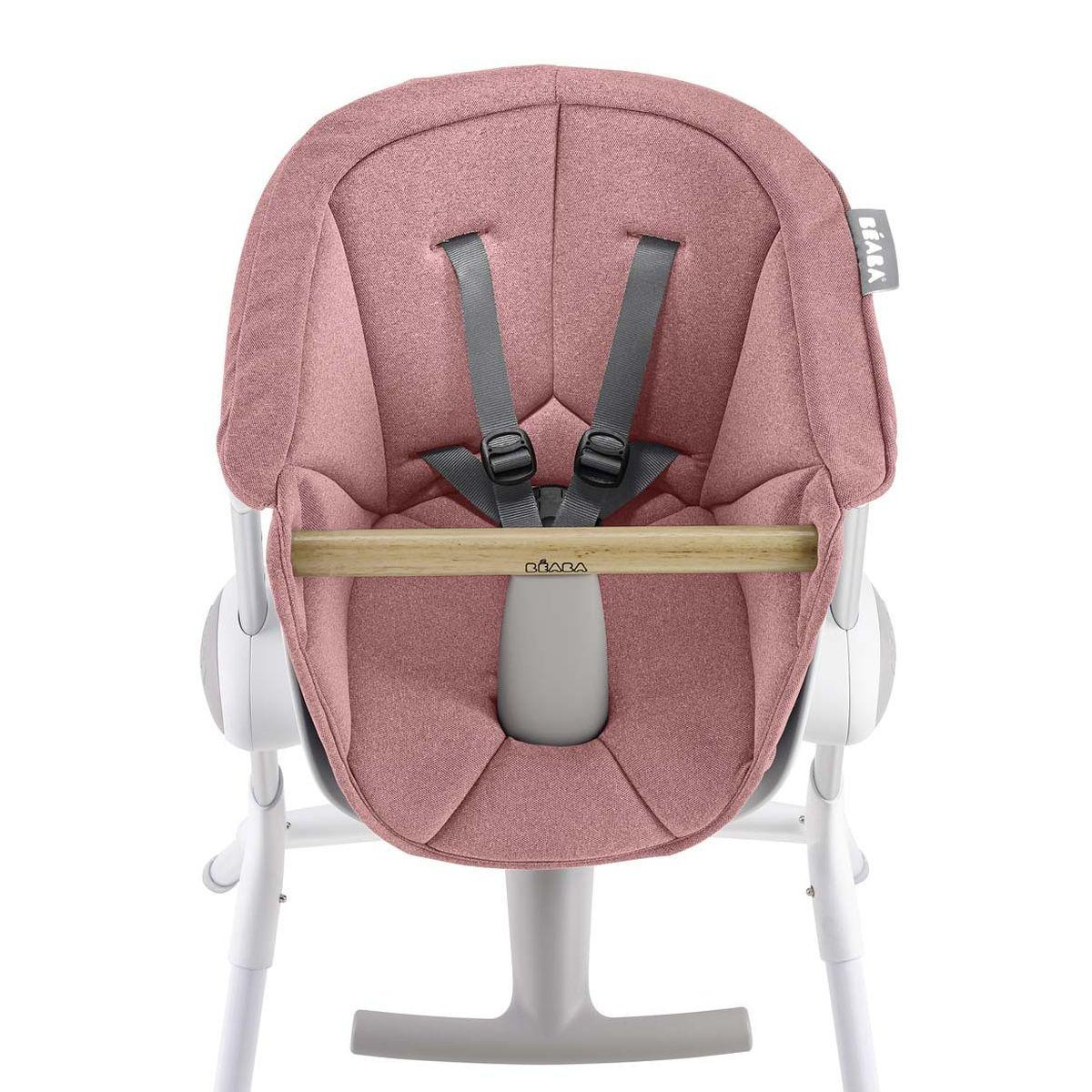 Assise chaise haute UP&DOWN Beaba pink
