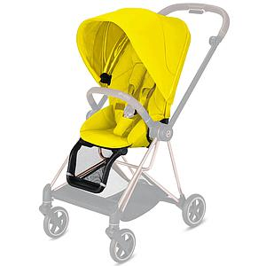 Assise-habillage poussette MIOS Cybex Mustard yellow-yellow