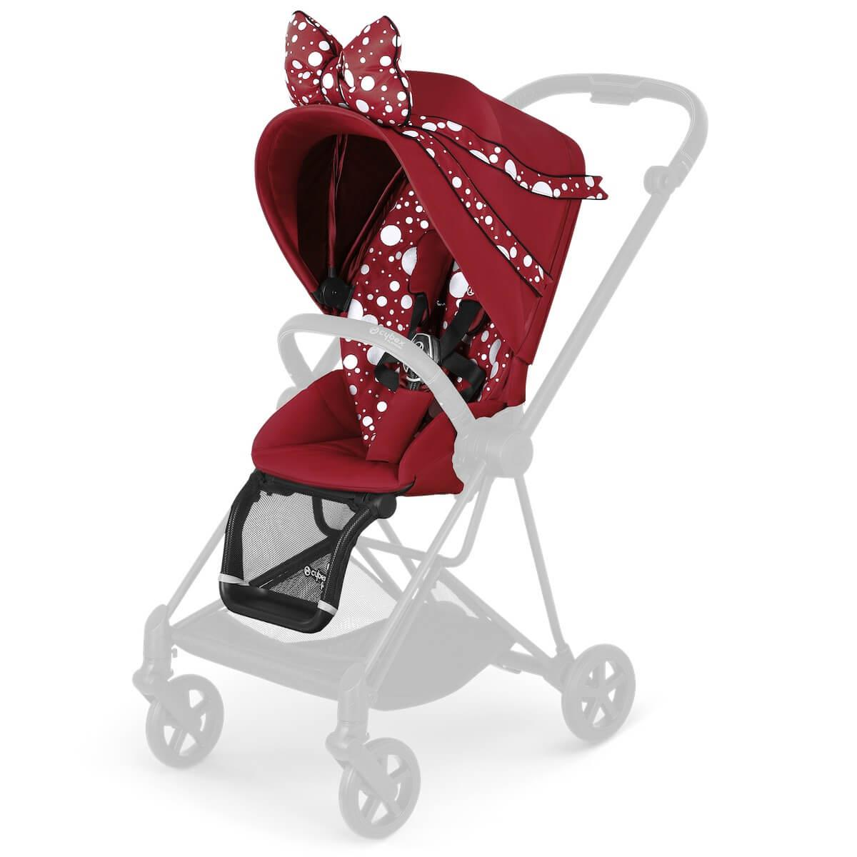 Assise-habillage poussette MIOS Cybex Petticoat Red dark red