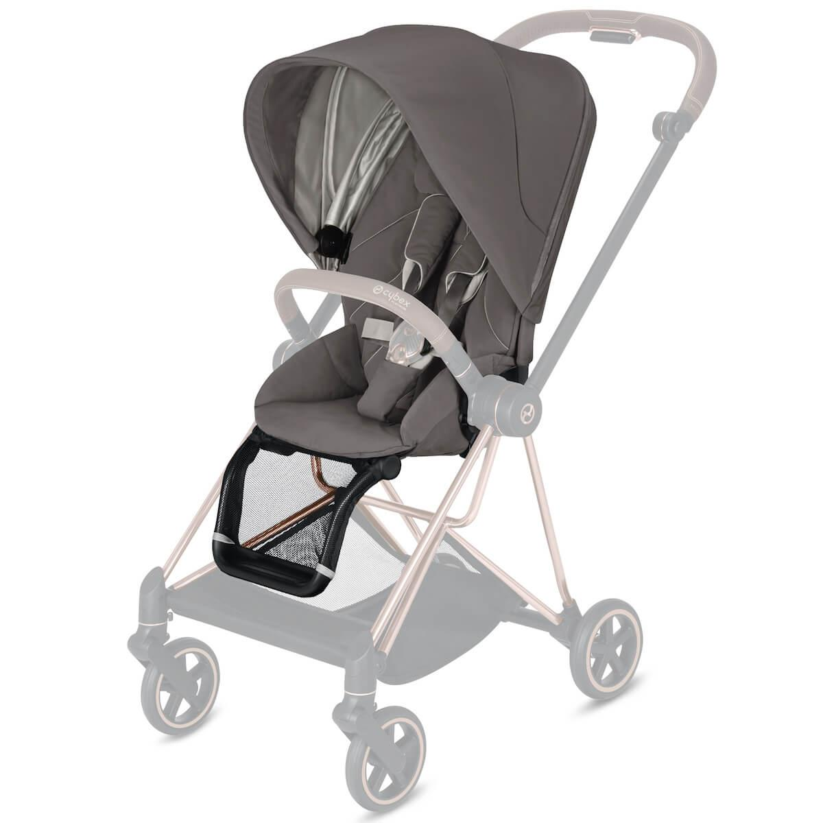 Assise-habillage poussette MIOS Cybex Soho grey-mid grey