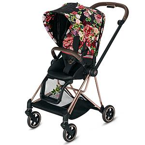 Assise-habillage poussette MIOS Cybex Spring Blossom Dark-black
