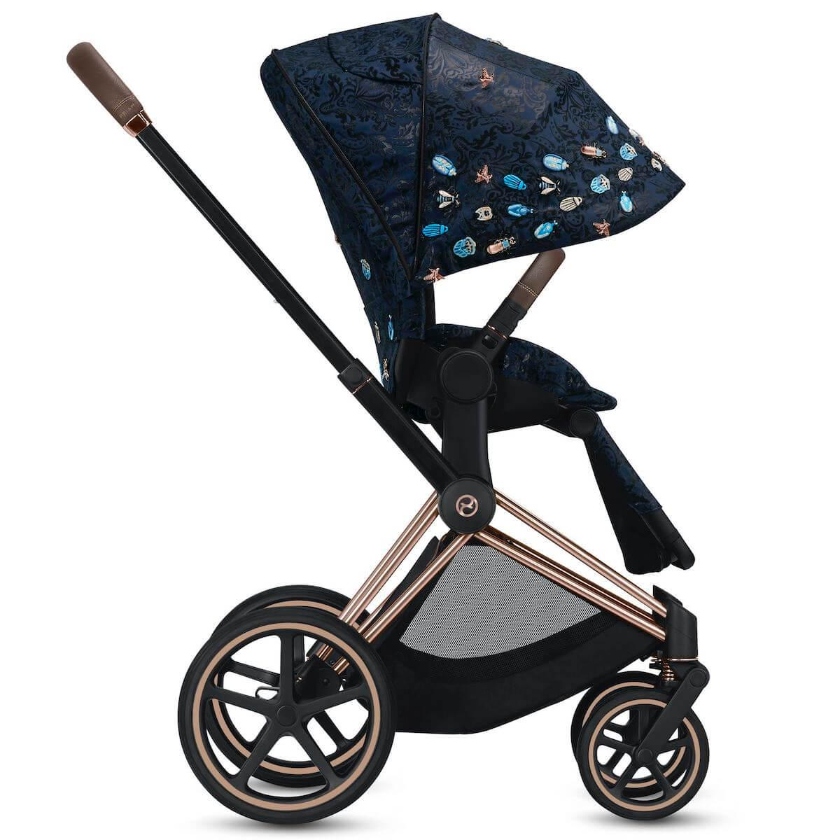 Assise-habillage poussette PRIAM Cybex Jewels of Nature