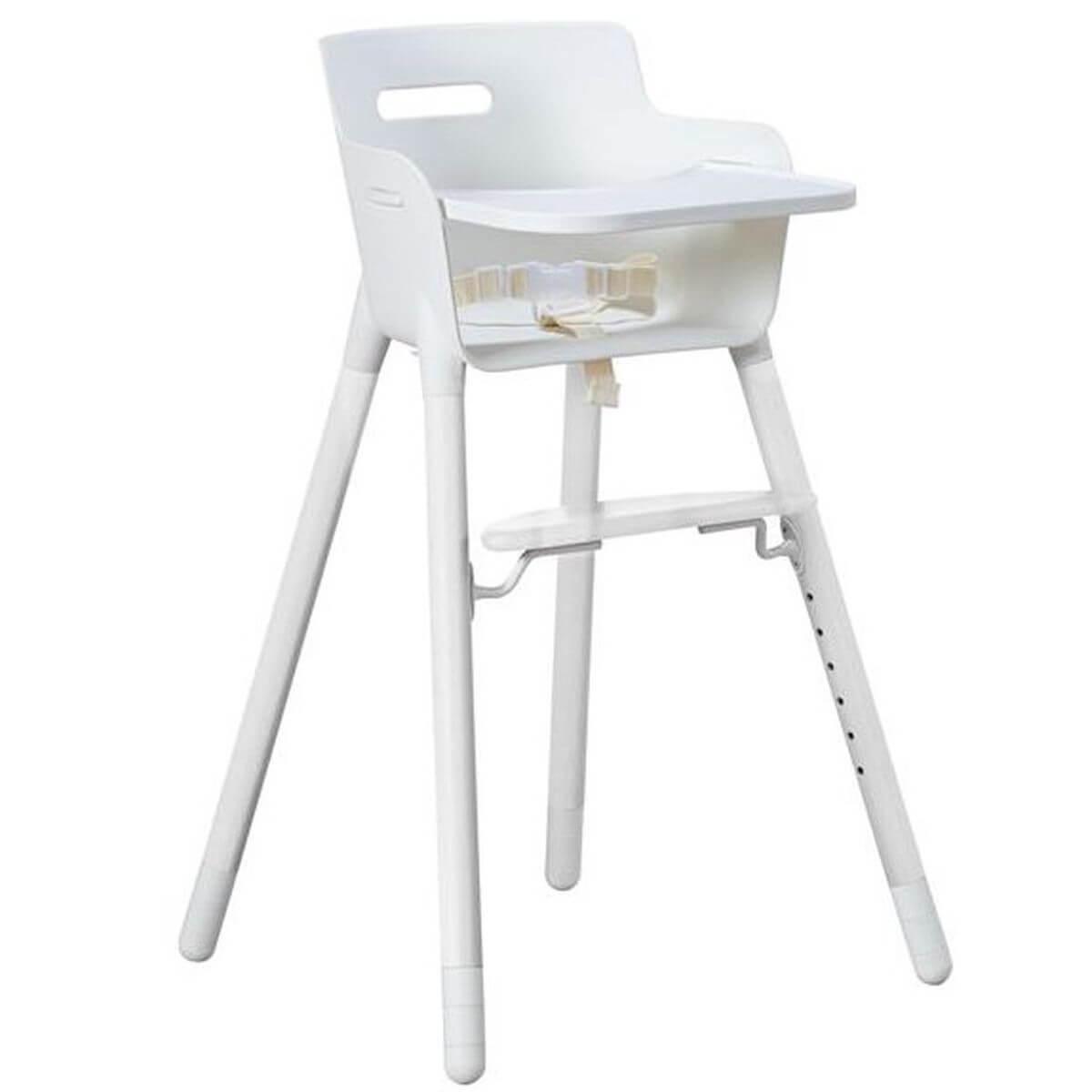 BABY by Flexa Tablette pour chaise haute Blanc
