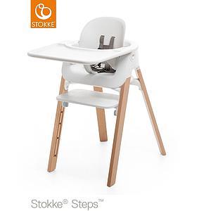 set Stokke Baby chaise blanc STEPS haute PkTuZiOX