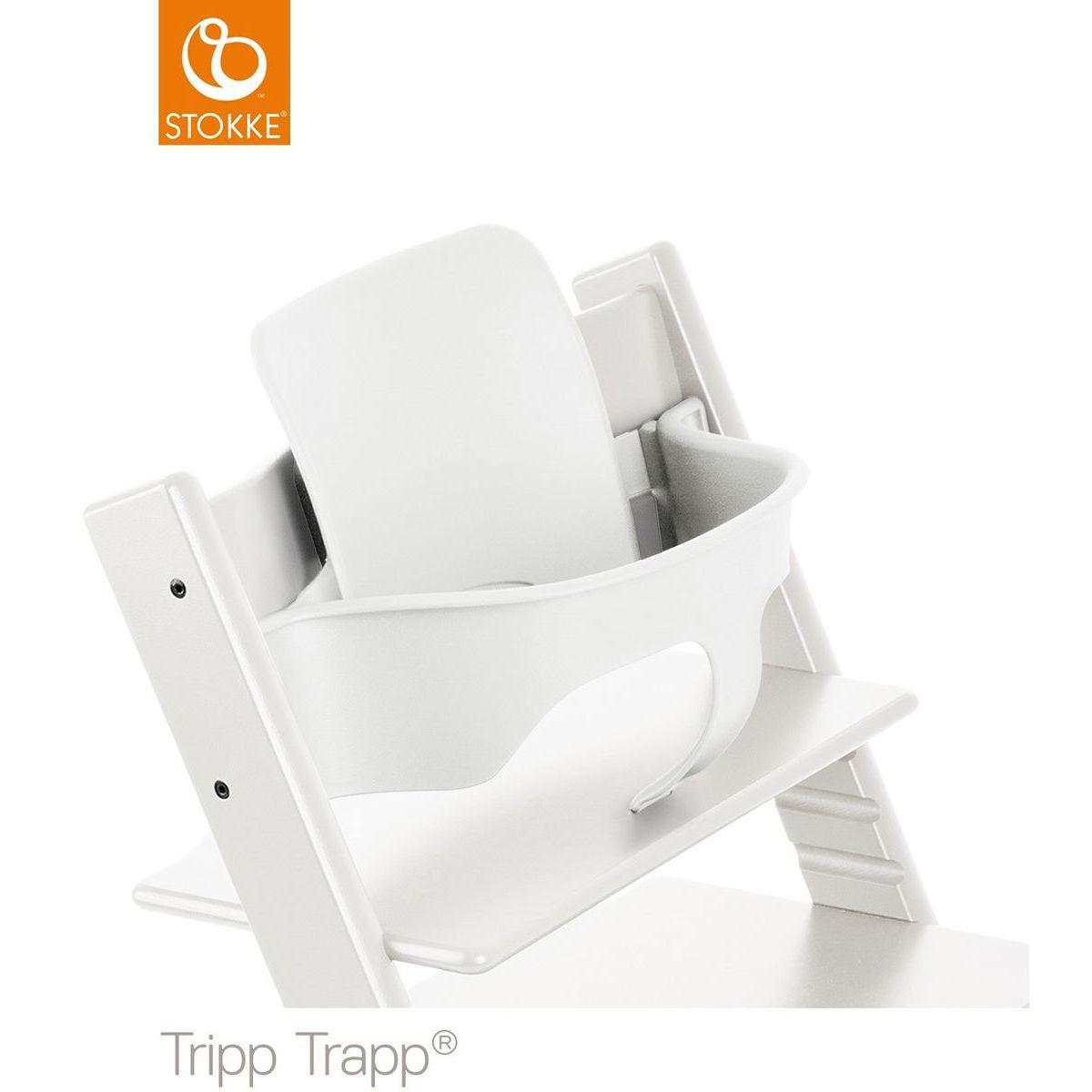 Baby set chaise haute TRIPP TRAPP Stokke blanc