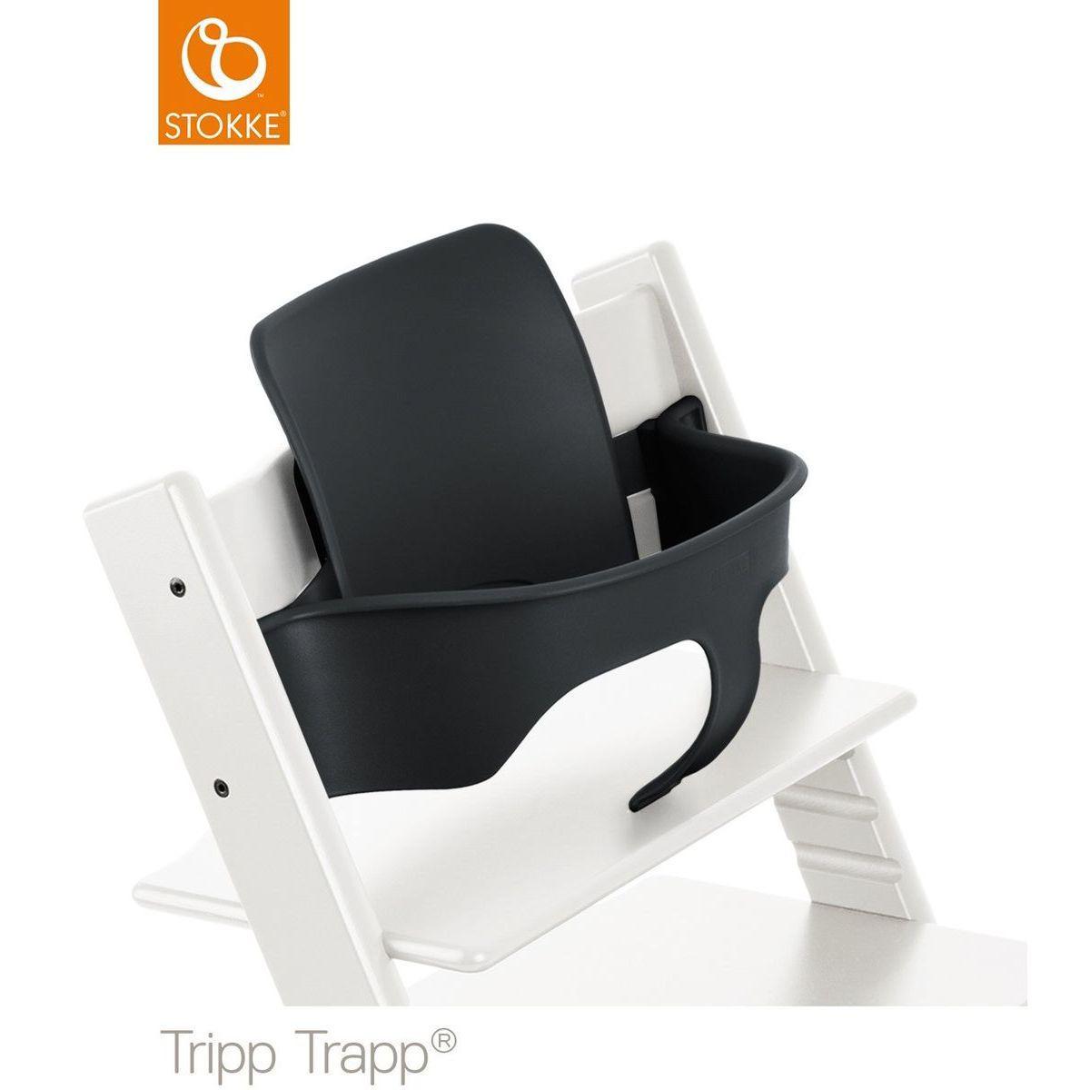 Baby set chaise haute TRIPP TRAPP Stokke noir