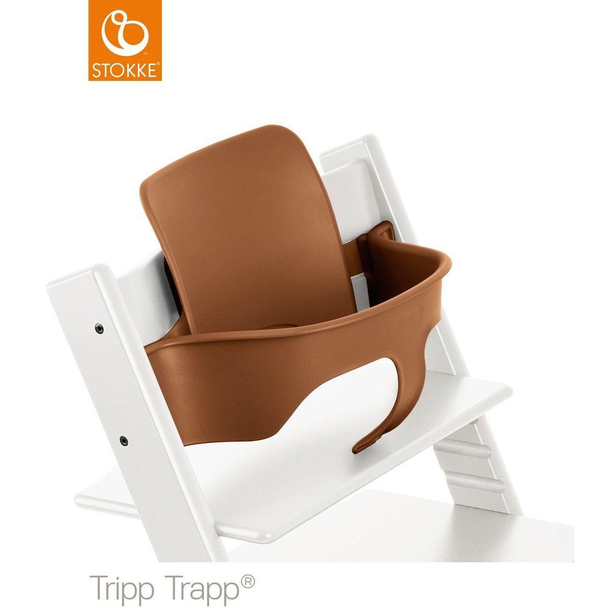 Baby set chaise haute TRIPP TRAPP Stokke noyer