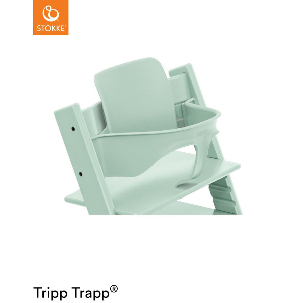 Baby set chaise haute TRIPP TRAPP Stokke Soft Mint