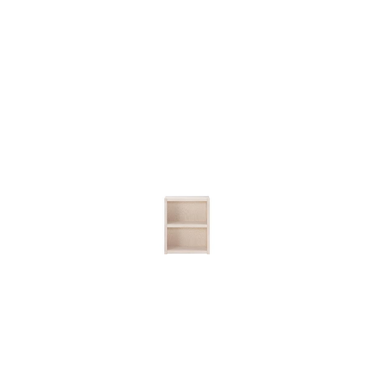Bibliothèque 2 casiers Lifetime blanchi