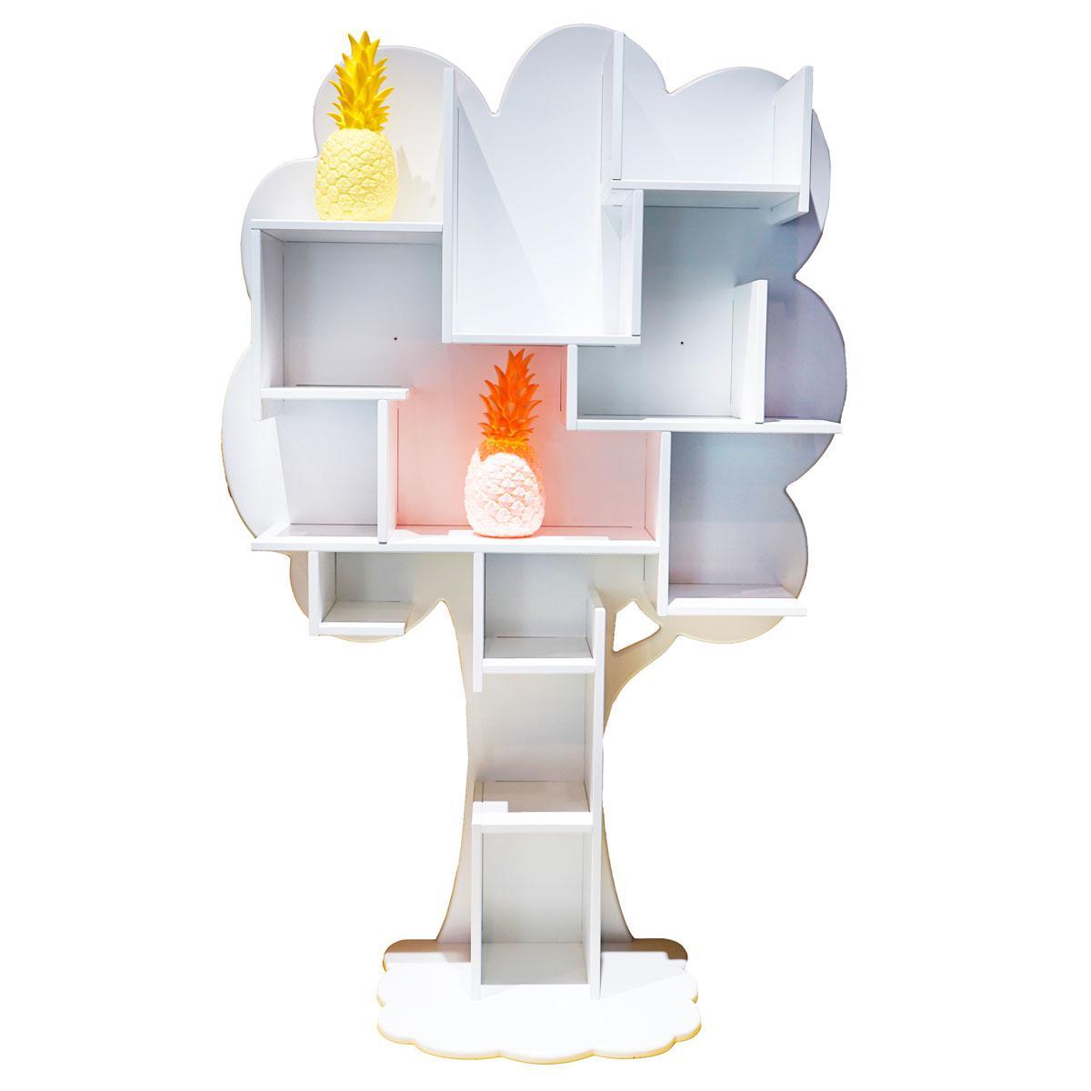 Bibliothèque arbre LOUANE Mathy by Bols blanc