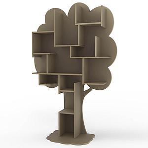 Bibliothèque arbre LOUANE Mathy by Bols lin