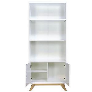 Bibliothèque LYNN BOPITA blanc-naturel
