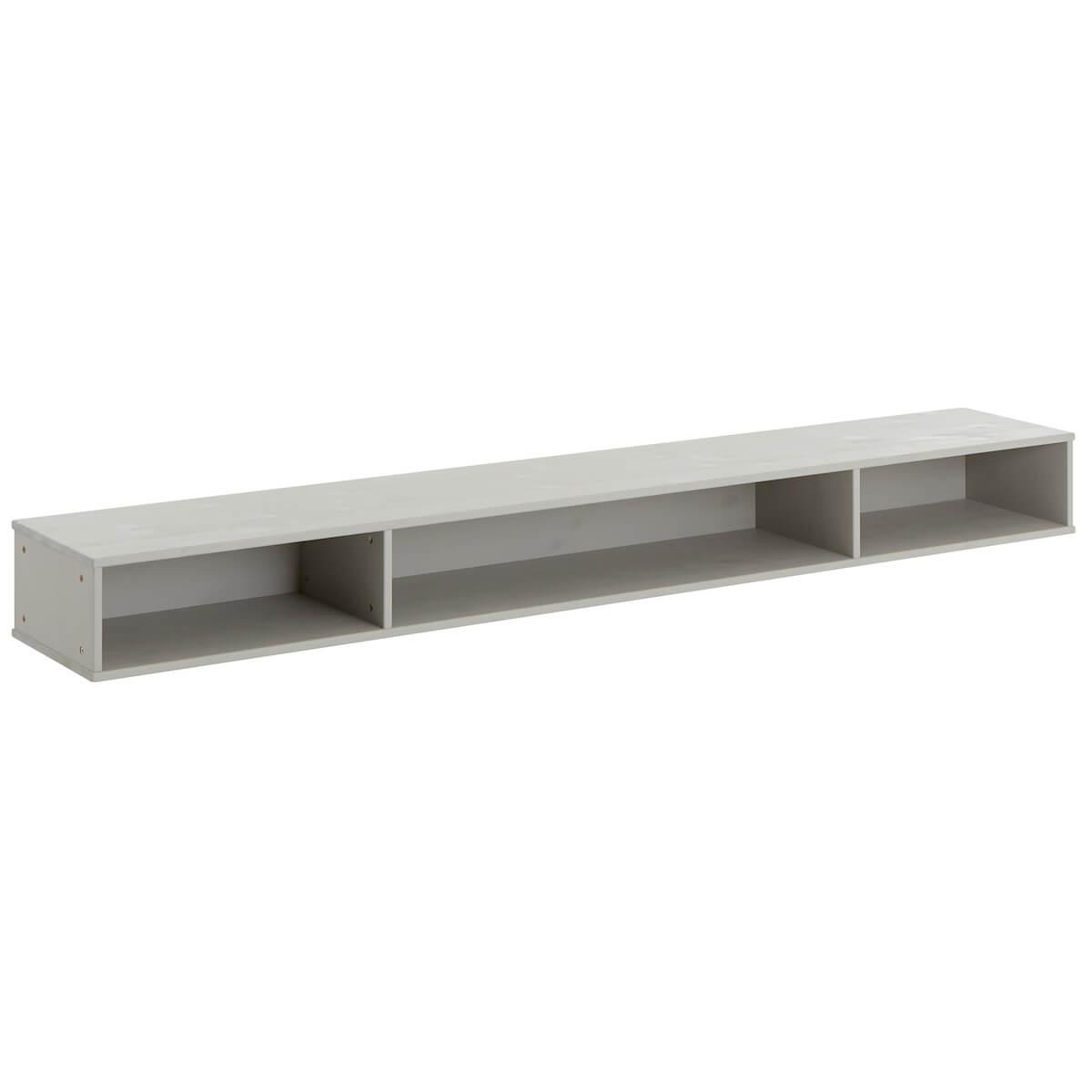 Boîte rangement lit stockage 90/120cm Lifetime gris