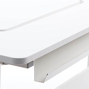Bureau évolutif inclinable middle up MOBY Flexa blanc