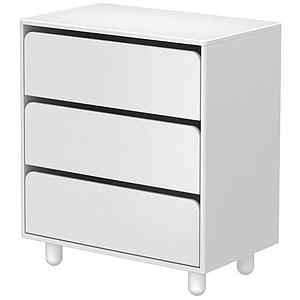 CABBY by Flexa Commode 3 tiroirs Blanc