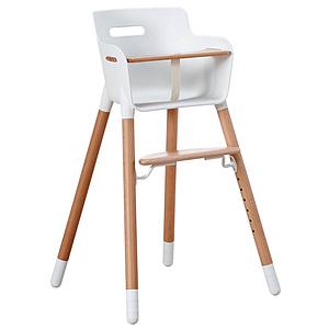 Chaise haute bébé BABY Flexa naturel-blanc