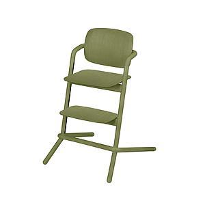 Chaise haute bois LEMO Cybex outback green-green