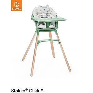 Chaise haute CLIKK™ Stokke vert trèfle