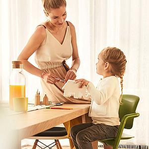 Chaise haute LEMO Cybex porcelaine white-white