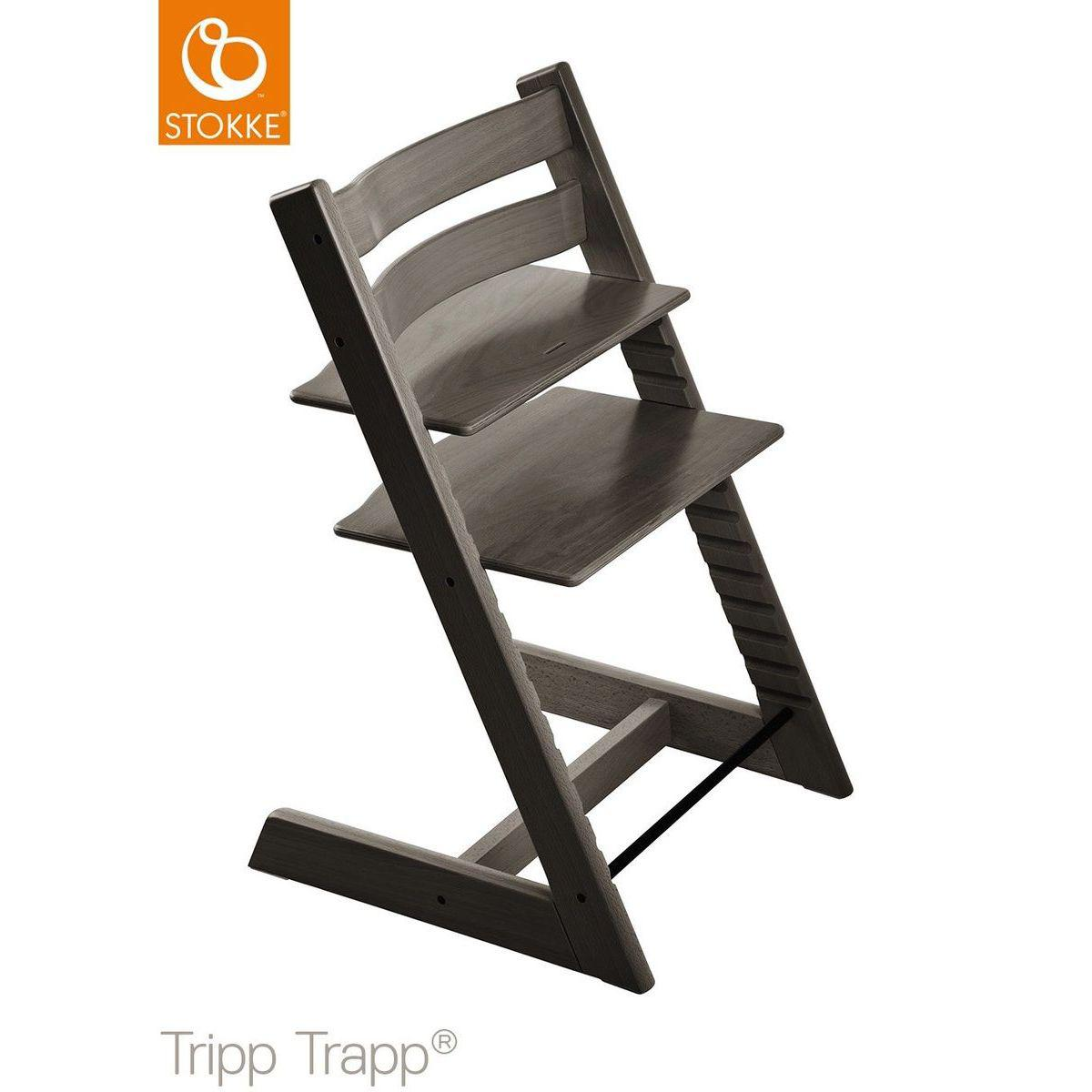 Chaise haute TRIPP TRAPP Stokke gris brume