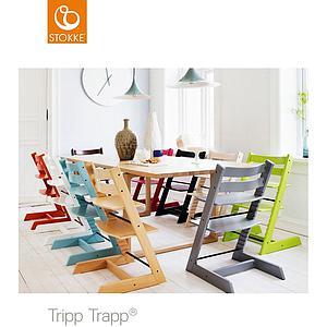 Chaise haute TRIPP TRAPP Stokke gris brume