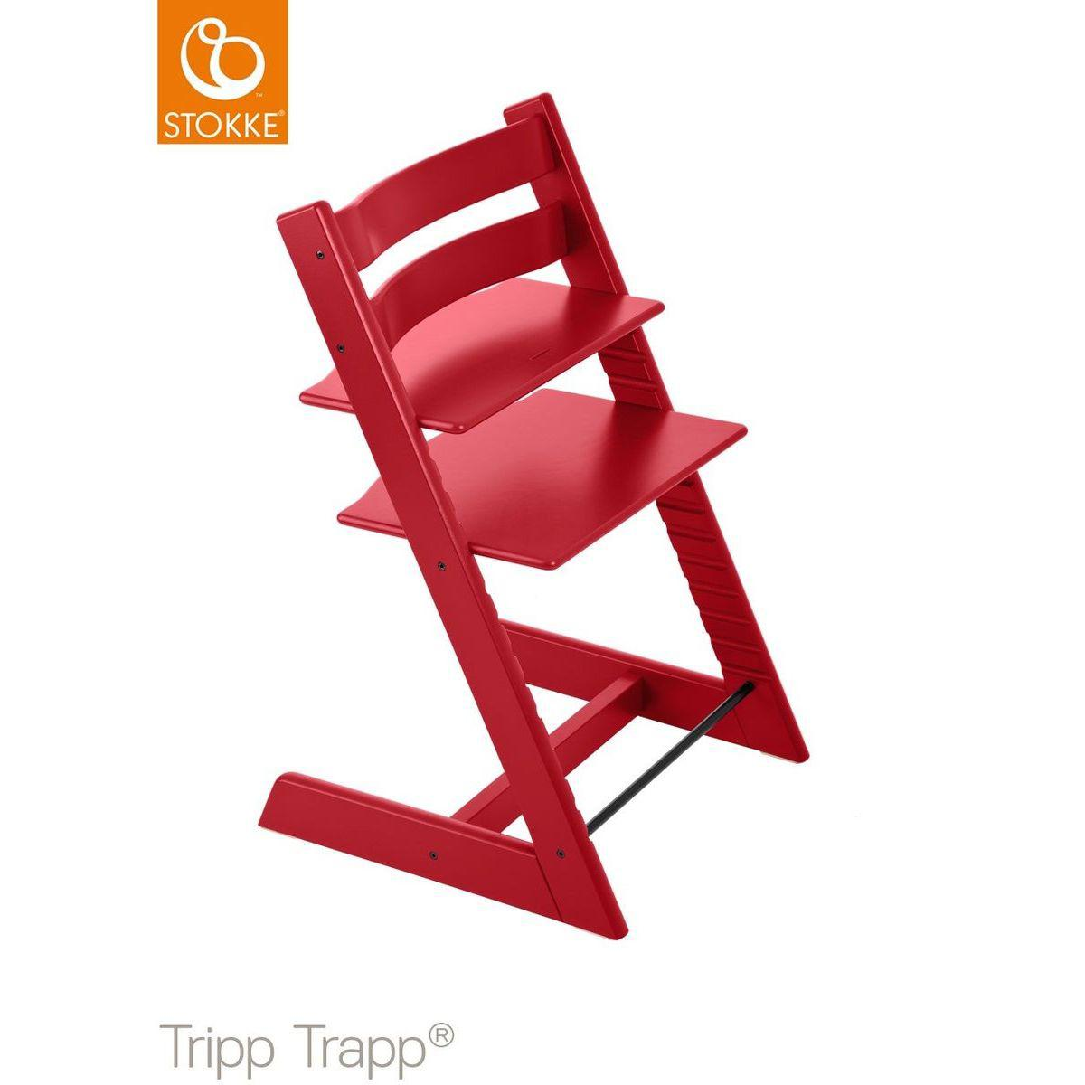 Chaise haute TRIPP TRAPP Stokke rouge