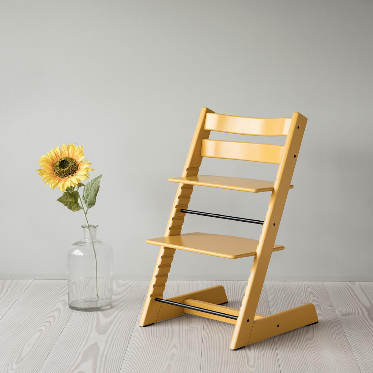 Chaise haute TRIPP TRAPP Stokke Sunflower yellow