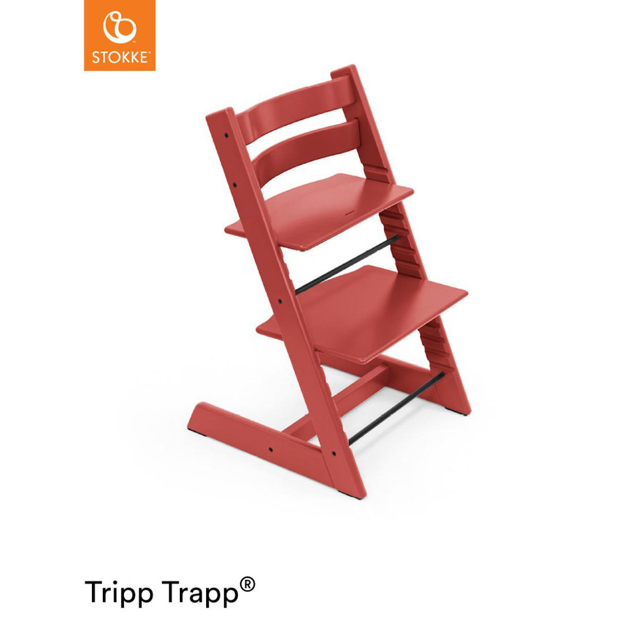 Chaise haute TRIPP TRAPP Stokke Warm Red