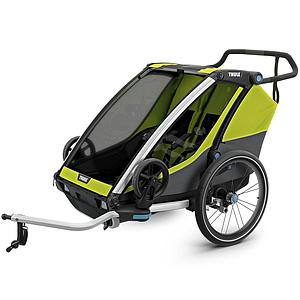 Chariot vélo CAB 2 Thule chartreuse