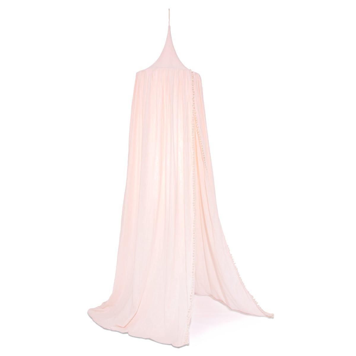 Ciel de lit AMOUR POM POM Nobodinoz dream pink