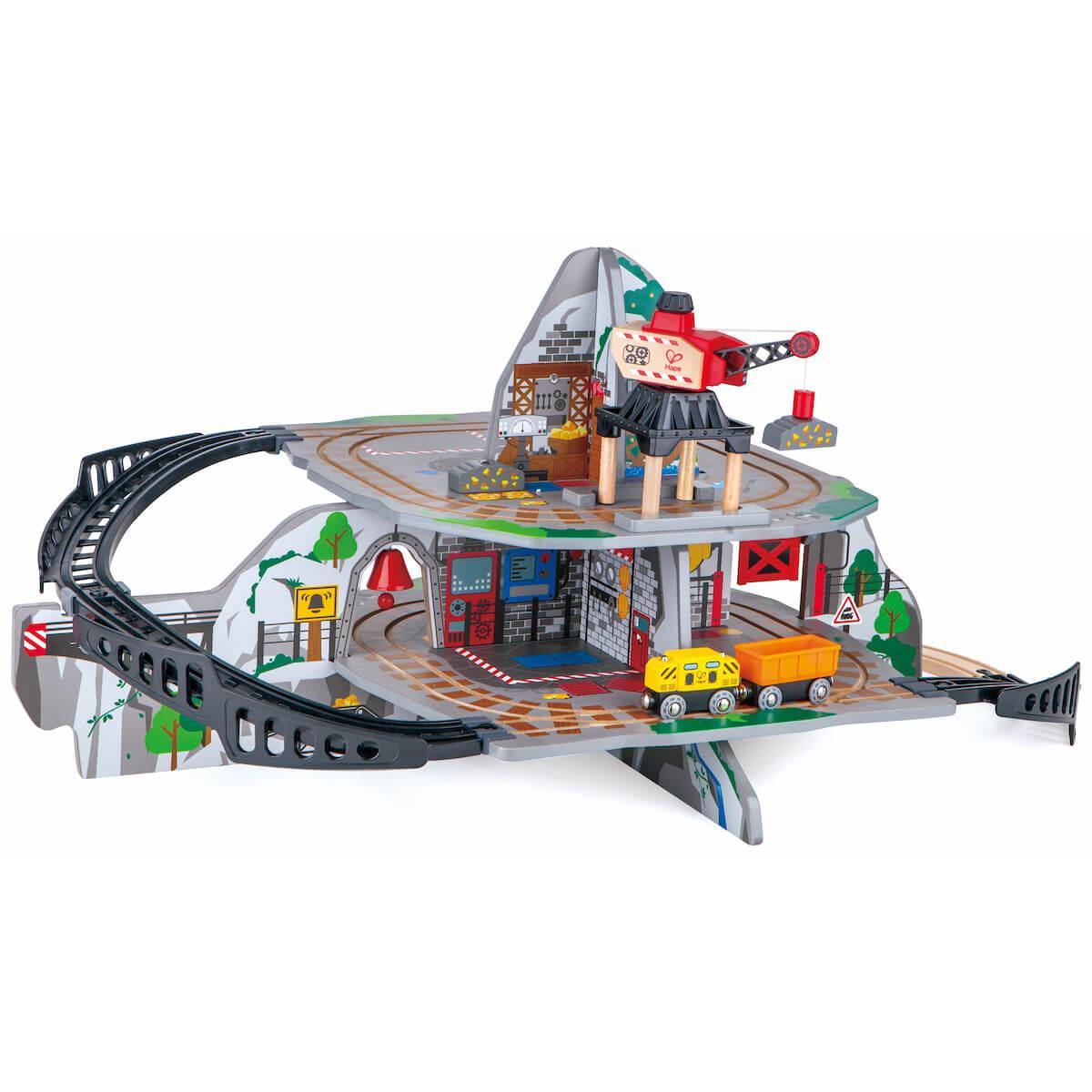 Circuit de train MASSIVE MOUNTAIN MINE Hape