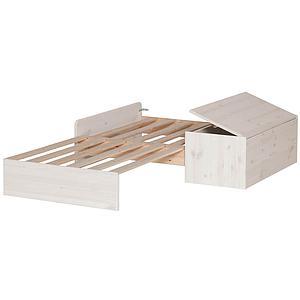 CLASSIC by Flexa Structure pour sofa sous lit blanchi